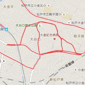 大谷口歴史公園周辺地図