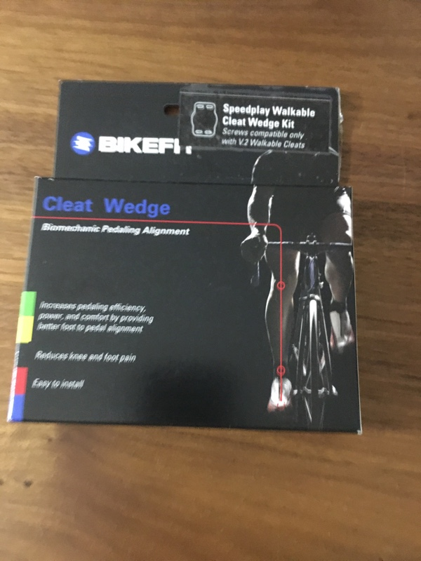 Bike Fit クリートウェッジ Speedplay Walkable